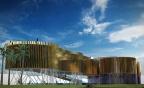 Expo 2015 Milan Mailand Feed The Planet Olaf Noack Temporary Architecture Nachhaltiges Design Media Facade Fachada Mediatica Espectaculo