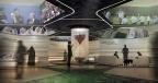 Wm 2022 Qatar Football Theme Lounge Inmersive Installation 360 Grad Projektionen Vip Guests Sport Events Olaf Noack Scenographer Szenograph Escenografo Designer