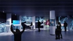 10 Fraport 1 Olaf Noack Visitor Center Besucherzentrum Luftfahrt Airport Flughafen Museum Ausstellung Multimedia Experience Interactives Flugsimulator Umsteigehub Design Szenografie