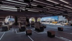 11 Fraport 3 Olaf Noack Scenic Design Exhibition Designer Stage Design Ausstellungen Projection Room Cinema Palma de Mallorca Besucherzentrum Flughafen Eventspace Kinetic Sculpture